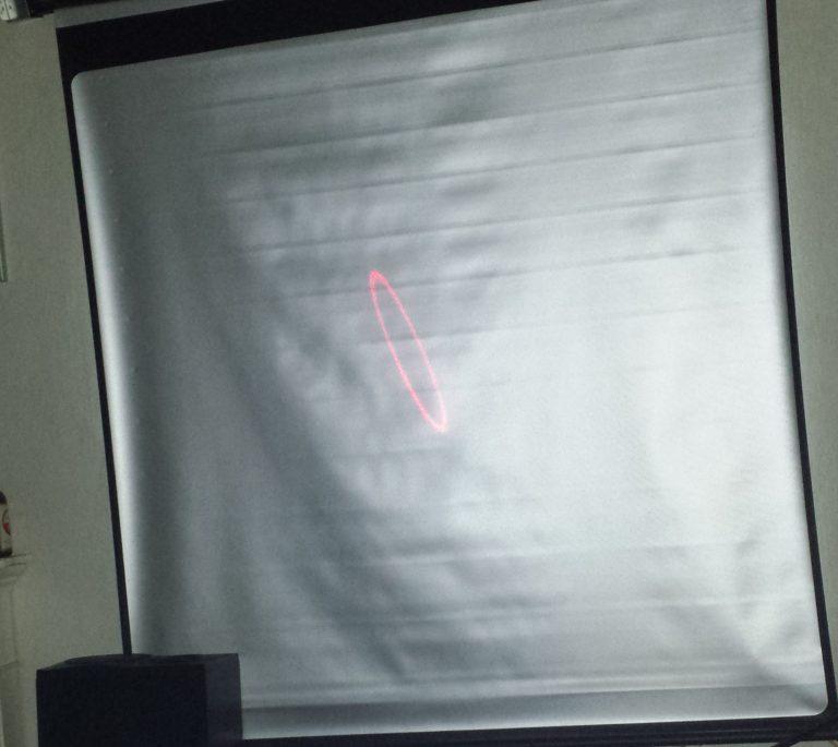 laser rond